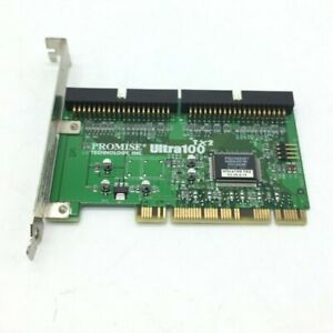 Promise Technology Ultra100TX2 100T2 Ultra ATA/100 PCI IDE Controller