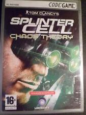 Tom Clancy 's Splinter Cell Chaos Theory PC Nuevo precintado Shooter castellano