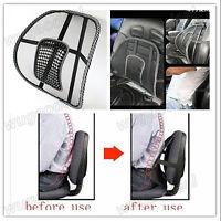 Car Seat Office Chair Massage Back Lumbar Support Mesh Ventilate Cushion Pad