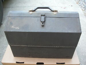 Nice Vintage Kennedy Kit Model #1018 Cantilever Toolbox No Rust