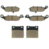SOMMET Front + Rear Brake Pads for Suzuki GSX 600 F / GSX 750 F Katana (98-06)