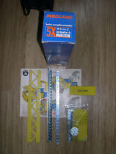 Meccano - Boîte complémentaire bleue n° 215X  complète.