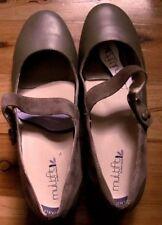 Diana Ferrari Flat (0 to 1/2 in.) Leather Heels for Women