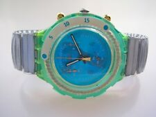 "Swatch Aqua-chrono-Flex ""the 7th wave"" + Neuf + - s -"