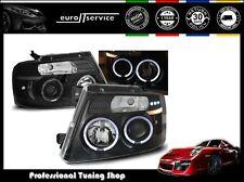 FARI ANTERIORI HEADLIGHTS LPFO40 FORD F150 MK11 2004-2006 2007 2008 ANGEL EYES