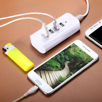 4 Port 6A USB Wall Charger Power Adaptor for iPhone 6S 6 5 Tablet Phone US PLUG
