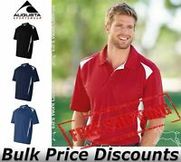 Augusta Mens Sportswear Two-Tone Premier Sport Shirt 5012 up to 3XL