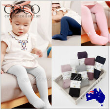 0-8Y Cotton Pantyhos For Girls Kids Newborn Baby Soft Warm Tights Stockings AU