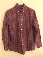 Vineyard Vines Mens Slim Fit Tucker Shirt Medium Plaid Long Sleeve Button Down