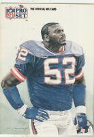 FREE SHIPPING-MINT-1991 Pro Set Pepper Johnson #395 GIANTS PLUS BONUS CARDS