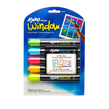 Expo Dry Erase Neon Markers Bullet Tip Dry Erase Markers Whiteboard Marke