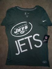 ($34) NIKE New York NY Jets nfl Jersey Shirt Adult WOMENS/LADIES (L-LARGE)