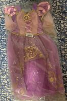 New Disney Rapunzel Tangled Costume for Kids Size 9 / 10 with tags