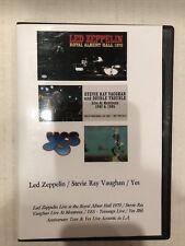 Live Concert Dvds:Led Zeppelin:Yes:Srv:4 Dvd Set