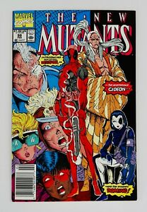New Mutants #98 Newsstand First Deadpool Appearance 1st App Hot Key No Reserve!!