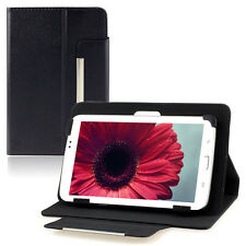 Universal Leather Stand Case Cover For 7 inch Android Tablet PC Black  Tide