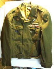 WW2 World War 2 Eisenhower Ike Jacket with Medals Wool Uniform US Army Military