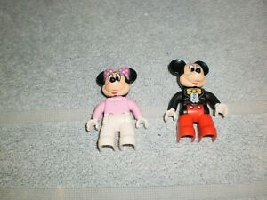 Lego Duplo  Mickey Mouse Minnie Mouse Figuren 2 Stück