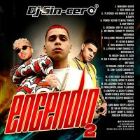 DJ SINCERO Encendio 2020 Vol. 2 REGGAETON LATIN Mixtape Mix CD Spanish Music