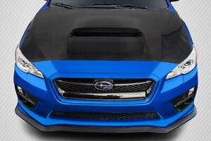 15-20 Subaru WRX / STI OEM Carbon Fiber Creations Body Kit- Hood!!! 113010