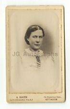 19th Century Fashion - 1800s Carte-de-visite Photo - A. Booth of Nottingham