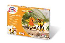 FIMO Kids Form & Play Crazy Animals Set Lion & Tiger Craft Level 3 Art Fun 07