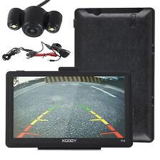 "XGODY 715 7"" 8GB Sat Nav Bluetooth US GPS Navigation w/ 6m Wired Backup Camera"