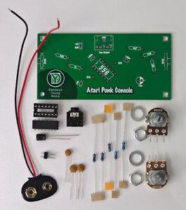 Atari Punk Console kit diy electronics solder practice