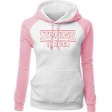 stranger things Sudadera con capucha rosa para mujer hombre niño niña
