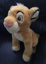 "Disney~Lion King~Authentic 14"" Sitting SIMBA Cub~Plush~Stuffed~Soft~Animal Toy"