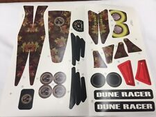 Power Wheels CBC58 Camo Dune Racer Decal Label Sheet Genuine Fisher Price