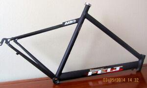 Answer / Felt B2 Triathlon 54 Frame Made in USA by Jim Felt Custom Easton Tubing