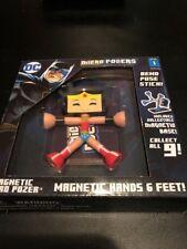 DC Micro Pozers Wonder Woman Series 1 NiB Magnetic Collectible Posable Play Fun