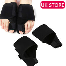 Pair Big Toe Bunion Splint Straightener Corrector Hallux Valgus Relief Foot UK