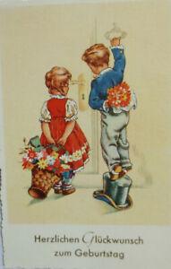 Anniversaire, Enfants, Mode, Cylindre, 1926, Impression D'Or (3511)