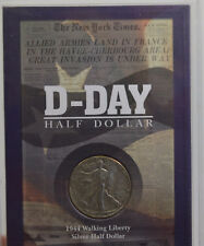 Official U.S. D-Day Half Dollar Collection Coin 1944 CO-10