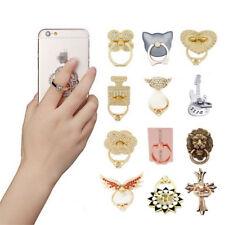 360°Finger Grip Metal Ring Stand Holder For Mobile Phones Tablet iPhone Samsung