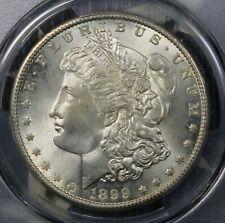 1899-O MORGAN SILVER DOLLAR PCGS MS64 COLLECTOR COIN, FREE SHIPPING