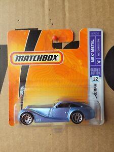 Matchbox 2008 - MORGAN AREOMAX CAR NEAR MINT SHORT CARD GOOD COMBINED POST