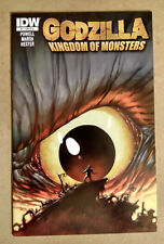 GODZILLA KINGDOM OF THE MONSTERS #1 - FIRST PRINT 1:10 VARIANT RI-A IDW (2011)