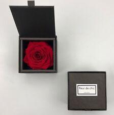 Blumenbox Rosenbox mit konservierten Rosen Flowerbox mit Infinity-Rose