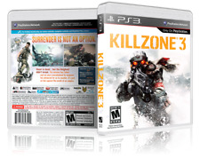 Killzone 3 - Replacement PS3 Cover and Case. NO GAME!!