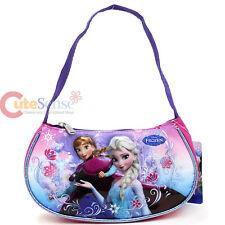Disney Frozen Elsa Anna Kids Hand Bag Purse Ice Snowflakes Satchel