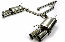 OBX Cat Back Exhaust Fits For 2004 to 2008 Acura TL TL-S Base Auto 6MT