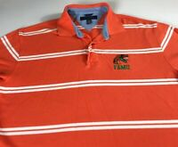 FAMU Polo Shirt Mens XL Florida A&M Rattlers Tommy Hilfiger Golf Student Alumni