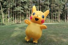 US SELLER Pikachu Inflatable Costume Adult Cosplay Pokemon