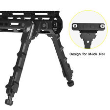 "Tactical M-Lok Bipod Aluminum M-lok 7.5""-9"" Adjustable Spring Rifle Bipod"