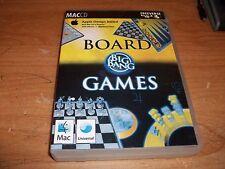 Big Bang Board Games (Mac, 2004) Chess Checkers Reversi Mancala Backgammon