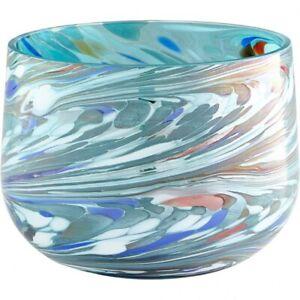 Cyan lighting - Vase - Wanaka - 5.25 Inch Small Round Vase  Jade Mosiac Finish -
