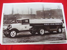 1931 FORD AA TANKER WHITE STAR GAS 11 X 17  PHOTO   PICTURE